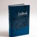 Grafische vormgeving liedboek-luxe-blauw
