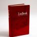 Grafische vormgeving liedboek-luxe-rood